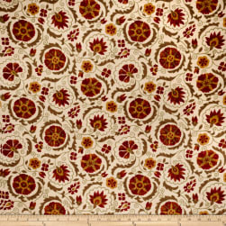 Jaclyn Smith 02097 Linen Blend Garden Spice Fabric