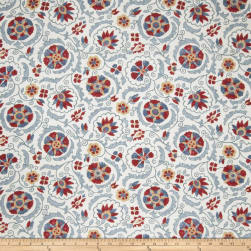 Jaclyn Smith 02097 Linen Blend Punch Fabric