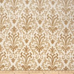 Jaclyn Smith 02098 Linen Blend Fresh Gold Fabric