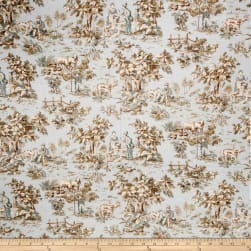 Jaclyn Smith 02099 Linen Blend Robins Egg Fabric