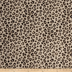 Jaclyn Smith 02100 Linen Blend Leopard Fabric