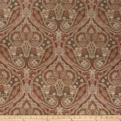 Jaclyn Smith 02102 Jacquard Spicewood Fabric