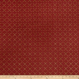 Jaclyn Smith 02104 Chenille Cardinal Fabric