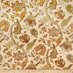 Jaclyn Smith 02116 Linen Blend Garden Spice Fabric