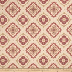 Jaclyn Smith 02129 Jacquard Crimson