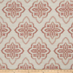 Jaclyn Smith 02601 Chenille Jacquard Blush Fabric