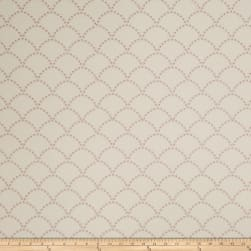 Jaclyn Smith 02607 Embroidered Linen Blend Blush Fabric