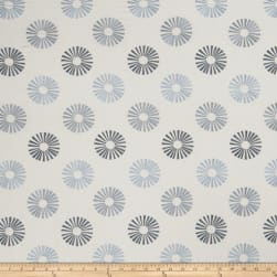 Jaclyn Smith 02619 Embroidered Linen Chambray Fabric