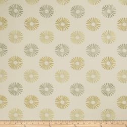 Jaclyn Smith 02619 Embroidered Linen Lemon Zest Fabric