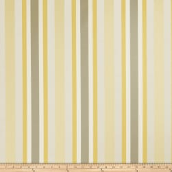 Jaclyn Smith 02621 Sateen Stripes Lemon Zest Fabric