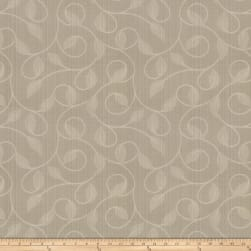 Trend 02879 Jacquard Leaves Raffia Fabric