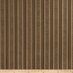 Trend 02906 Textured Jacquard Stripe Mocha Fabric