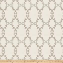 Trend 02946 Embroidered Ivory Fabric