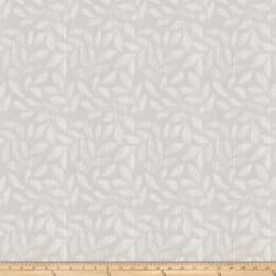 Trend 03157 Jacquard Leaves Silver Fabric