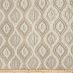 Trend 03158 Crinkle Jacquard Natural Fabric