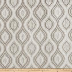 Trend 03158 Crinkle Jacquard Silver Fabric