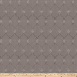 Trend 03162 Satin Jacquard Grey Fabric