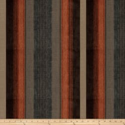 Trend 03254 Chenille Stripes Canyon Fabric