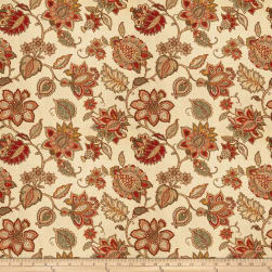 Trend 03304 Linen Blend Coral Fabric