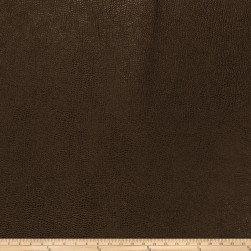Trend 03343 Faux Leather Chocolate Fabric