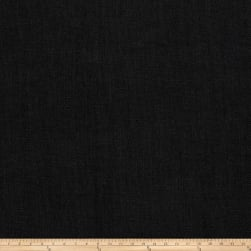 Vern Yip 03351 Linen Blend Solid Black Fabric