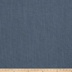 Vern Yip 03351 Linen Blend Solid Denim Fabric