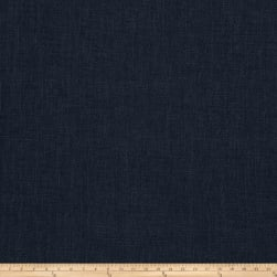 Vern Yip 03351 Linen Blend Solid Navy Fabric