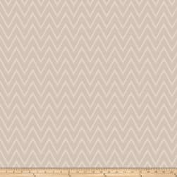 Vern Yip 03358 Jacquard Chevron Natural Fabric