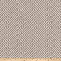 Vern Yip 03359 Jacquard Greek Key Grey Fabric
