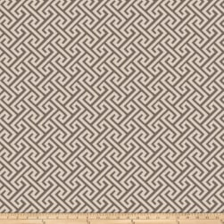 Vern Yip 03359 Jacquard Greek Key Pewter Fabric