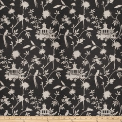 Vern Yip 03364 Linen Blend Light Black Fabric