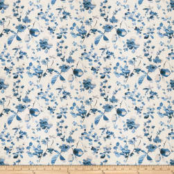 Vern Yip 03367 Linen Blue Fabric