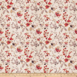 Vern Yip 03367 Linen Poppy Fabric