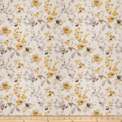 Vern Yip 03367 Linen Yellow Grey Fabric