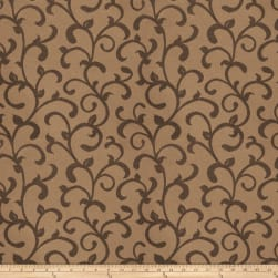 Trend 03481 Satin Jacquard Scroll Fieldstone Fabric