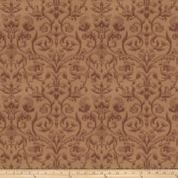 Trend 03485 Satin Jacquard Damask Brick Fabric