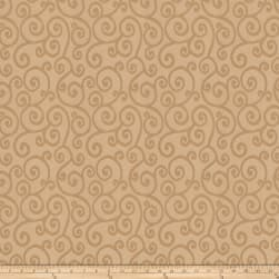 Trend 03486 Satin Jacquard Buff Fabric