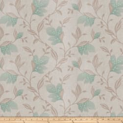 Trend 03670 Embroidered Duck Seaglass Fabric