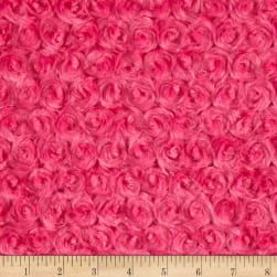 Shannon Minky Luxe Cuddle Rose Fuchsia Fabric
