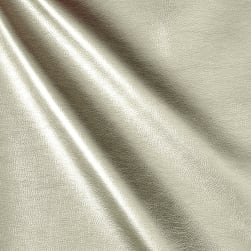 Richloom Tough Vinyl Benatar Silver Fabric