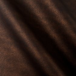 Richloom Tough Faux Leather Supima Chocolate Fabric