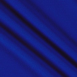 Fabric Merchants Bubble Crepe Solid Royal Blue Fabric