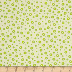 Frogland Friends Bubble Dot Cream/Green