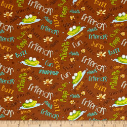 Frogland Friends Frogs And Words Brown