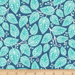 Alex Anderson Mirage Vines Angel Blue Fabric