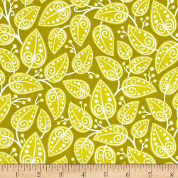 Alex Anderson Mirage Vines Citronelle Fabric