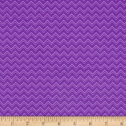 Monster Trucks Diggity Ziggity Purple People Eater Fabric