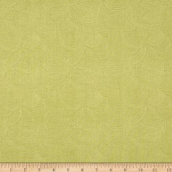 Dear Stella Perch Scallop Dot Pistachio Fabric