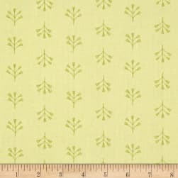 Dear Stella Perch Tile Floral Lime Fabric