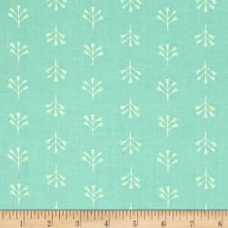Dear Stella Perch Tile Floral Turquoise